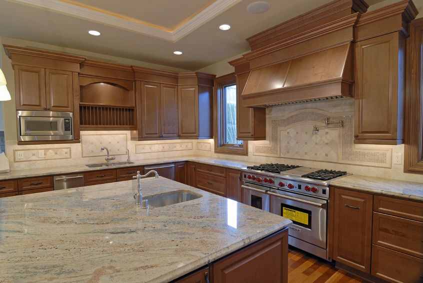 Granite countertop kitchen remodeling